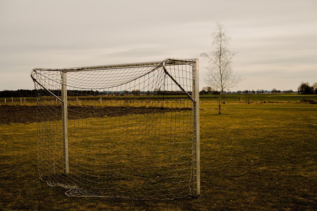 Fußballtor Test