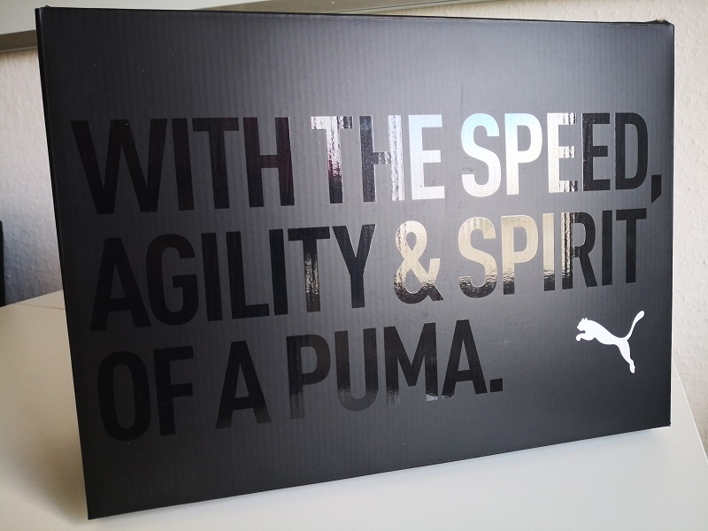 With The Speed, Agility & Spirit of a Puma